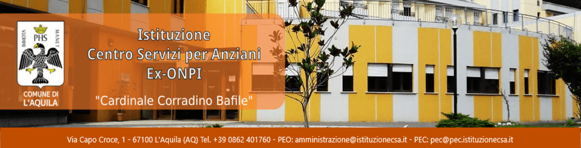 """Istituzione Centro Servizi per Anziani """"Ex ONPI"""""""